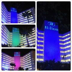 Photo taken at Hilton Cartagena by Luis Gmo D. on 2/20/2013