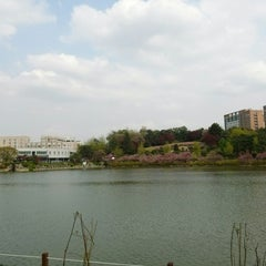 Photo taken at 건국대학교 (Konkuk University) by maluchi on 4/28/2013