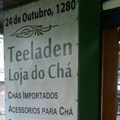 Photo taken at Teeladen - Loja do Chá by Letícia M. on 3/11/2014