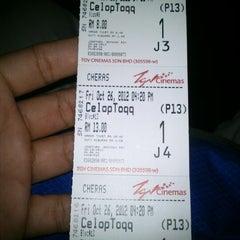 Photo taken at TGV Cinemas by Muhamadkamalmajid M. on 10/26/2012
