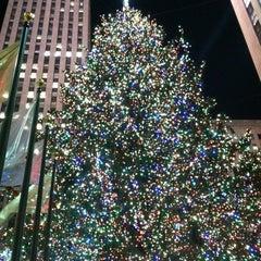Photo taken at 30 Rockefeller Plaza by Patrick A. on 12/6/2012