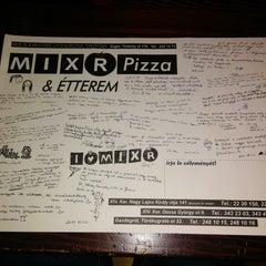 Photo taken at Mix-R Pizza & Étterem by Attila G. on 11/10/2014