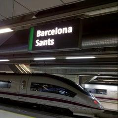 Photo taken at Sants Estació by Jordi S. on 3/15/2013