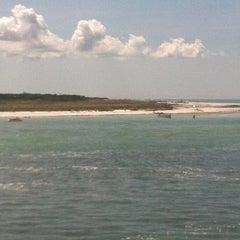 Photo taken at Caladesi Island State Park by Cabana Boy B. on 9/29/2012