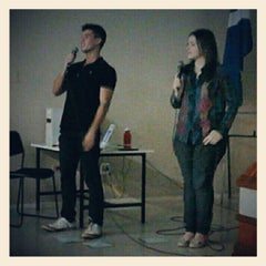Photo taken at Auditório by Guilherme R. on 11/14/2012