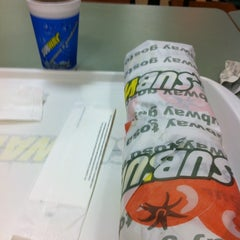 Photo taken at Subway by Ricky N. on 1/22/2013