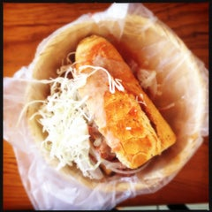 Photo taken at Tortas Toño by Cocosoyyo on 10/21/2012