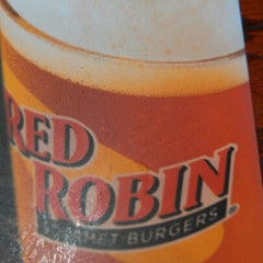 Photo taken at Red Robin Gourmet Burgers by Jeremy G. on 10/21/2012