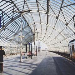 Photo taken at Station Amsterdam Sloterdijk by Zana F. on 4/27/2013