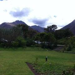Photo taken at Tambo del Inka Resort & Spa, Valle Sagrado by Miguel B. on 9/27/2012