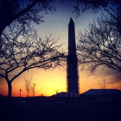 Photo taken at Washington Monument by Andrew B. on 4/3/2013