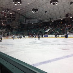 Photo taken at Thompson Arena at Dartmouth by Jim C. on 12/30/2013