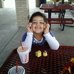 Photo taken at SONIC Drive In by Tracey-Lynn R. on 10/1/2012