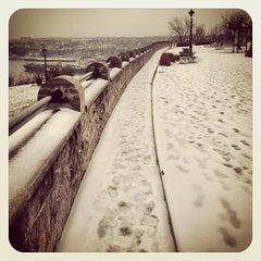 """Photo taken at Terrasse  """"Pierre-Dugua-De Mons"""" by Kowaq on 12/3/2012"""
