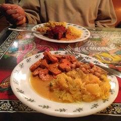 Photo taken at Coriander Indian Grill by Sakena P. on 12/10/2012