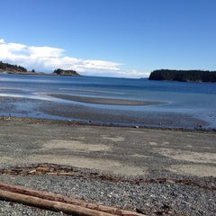 Photo taken at Departure Bay Beach by J.M. P. on 3/20/2014