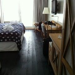 Photo taken at Hotel J by Katsu U. on 1/23/2013