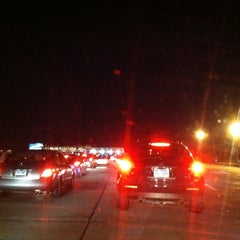 Photo taken at New England Thruway Toll Plaza by Julie W. on 1/1/2013