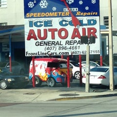 Photo taken at Ice Cold Auto Air by Bryan on 11/1/2012