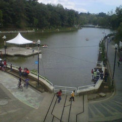 Photo taken at Parque de Los Lagos by Josselin D. on 11/10/2012