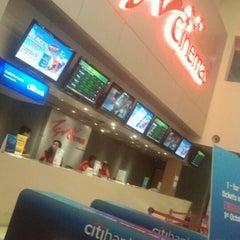 Photo taken at TGV Cinemas by AlAzieze on 10/20/2012