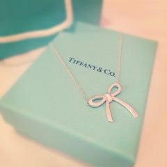 Photo taken at Tiffany & Co. by Carmen N. on 1/8/2013