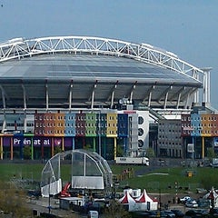 Photo taken at Amsterdam ArenA by Leon V. on 3/10/2013