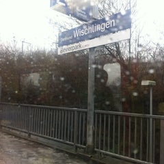 Photo taken at S Dortmund-Wischlingen by Tom S. on 1/29/2013