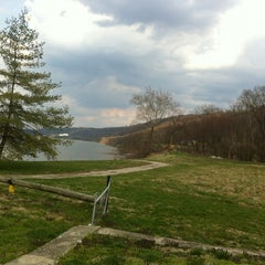 Photo taken at Anderson Ferry by Deborah B. on 4/7/2013