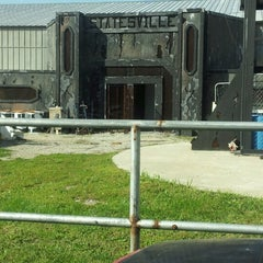 Photo taken at Statesville Haunted Prison by Megan S. on 10/4/2012