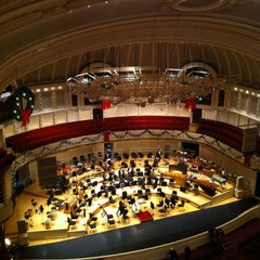 Photo taken at Symphony Center (Chicago Symphony Orchestra) by Kyle P. on 12/15/2012