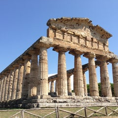 Photo taken at Area Archeologica di Paestum by Siobhan Q. on 8/24/2013