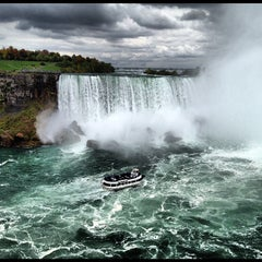 Photo taken at Maid Of The Mist - Canada entry by Mark V. on 10/7/2012