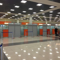 Photo taken at Паспортный контроль / Passport Control (E) by Dmitri E. on 12/5/2012