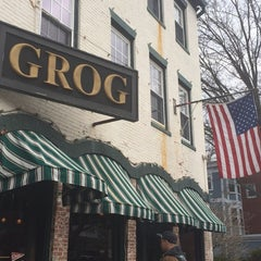 Photo taken at The Grog Restaurant by Kyle W. on 4/5/2014