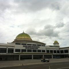 Photo taken at Sultan Iskandar Muda International Airport (BTJ) by Adrian S. on 12/24/2012