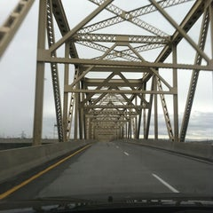 Photo taken at McNary Bridge by Jim N. on 10/28/2012