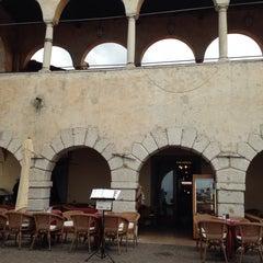 Photo taken at Bar Gelateria Pizzeria La Losa by Roberto S. on 4/4/2014