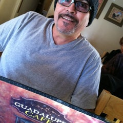 Photo taken at Guadalupe Cafe by MaryandRaul R. on 2/1/2013