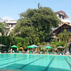 Photo taken at Sagara swimming pool by Bintang L. on 8/10/2014