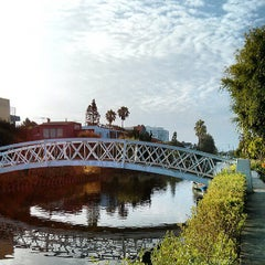 Photo taken at Venice Canals by Andrea G. on 7/21/2013