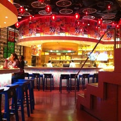 Photo taken at China Poblano by Lora T. on 11/16/2012