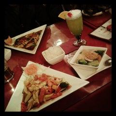 Photo taken at A Taste of Thai Restaurant by Rayh B. on 2/6/2013