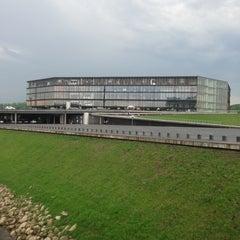 Photo taken at Žalgirio Arena   Zalgiris Arena by Sergei M. on 5/16/2013