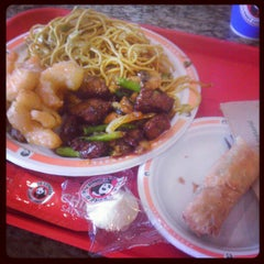 Photo taken at Panda Express by Shane O. on 12/26/2012