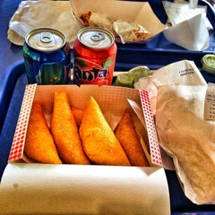 Photo taken at Mama's Empanadas by Jeremiah P. on 12/23/2012