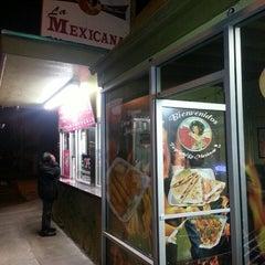 Photo taken at Taqueria La Mexicana by Todd S. on 4/3/2013