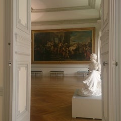 Photo taken at Musée des Beaux-Arts Jules Chéret by Lara B. on 1/28/2014