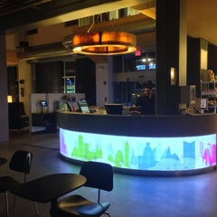 Photo taken at Aloft Chicago O'Hare by Melanie N. on 6/8/2013