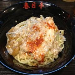Photo taken at 油そば 春日亭 渋谷店 by Yusuke on 4/13/2013
